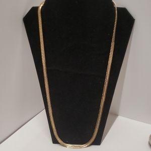 Vintage 18KT GP Chain Necklace
